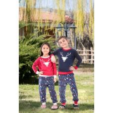 2-pack Viscose Girl's Pajamas Set