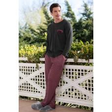 2-pack Viscose Single Jersey Men's Pajamas Set