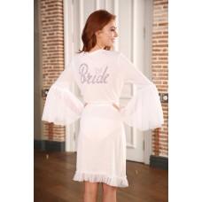 Bridal Viscose Dressing Gown