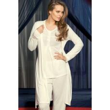 Women Pajamas Viscose 3 Pieces Set
