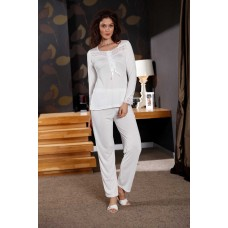Women Pajamas and Dressing Gown 6 Pieces
