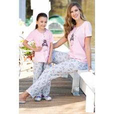 Girl's 2-piece Pajamas Set