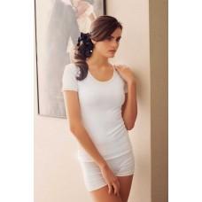 Short Sleeve U Neck T-shirt