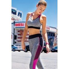 Gray Sport Leggings