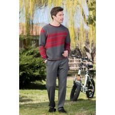 2-pack Viscose Single Jersey Interlock Men's Pajamas Set
