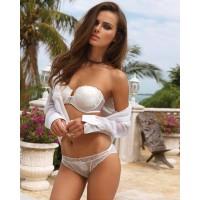 Maddam Underwear Lingerie Strapless Bra Sets and Briefs Model No 35
