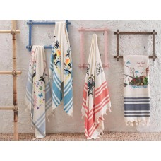 Turkish Cotton Trendy Peshtemal Authentic Beach Towel