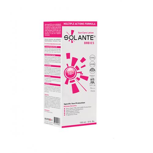 Solante Babies SPF 30+ Sun Care Lotion